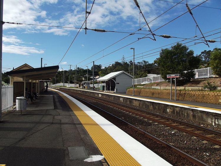 Fairfield railway station, Brisbane