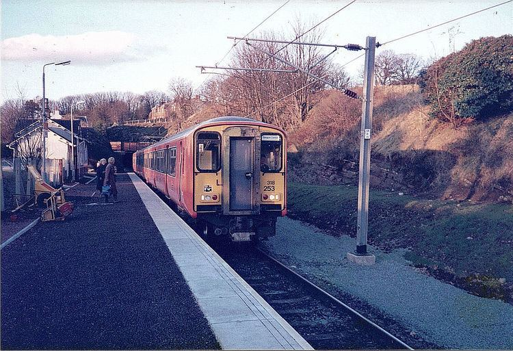 Fairlie railway station