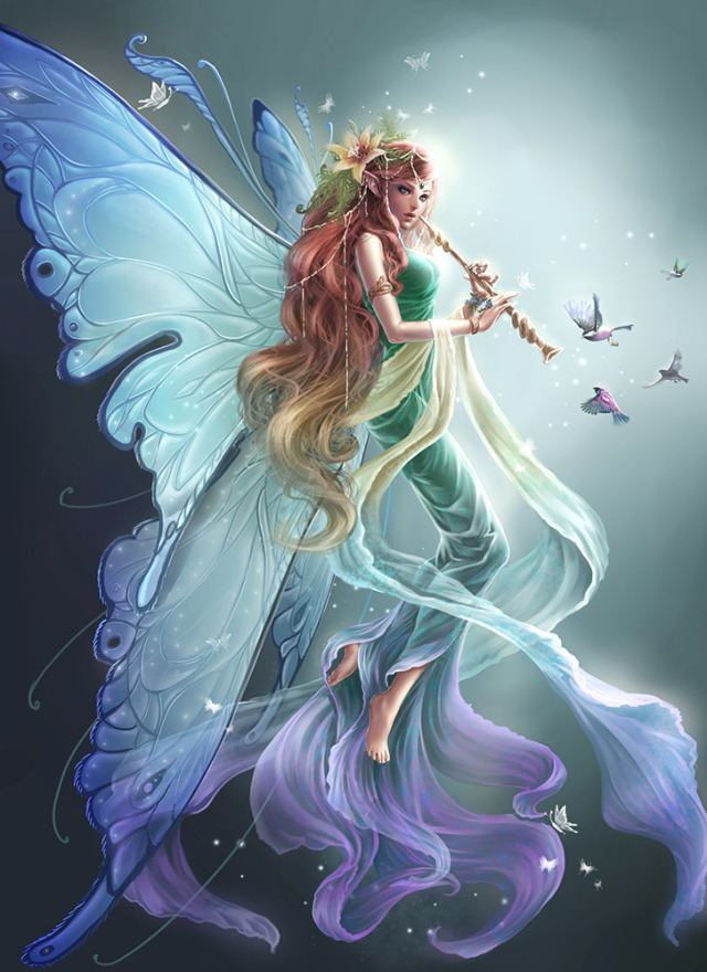 Fairy Are You A Fairy Angel Or Dragon Playbuzz