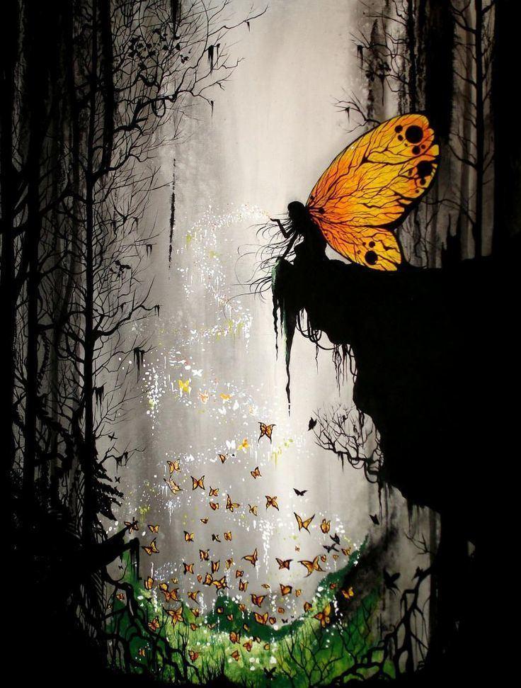 Fairy painting httpssmediacacheak0pinimgcom736xfc3f53