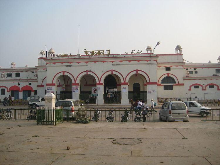 Faizabad Junction railway station