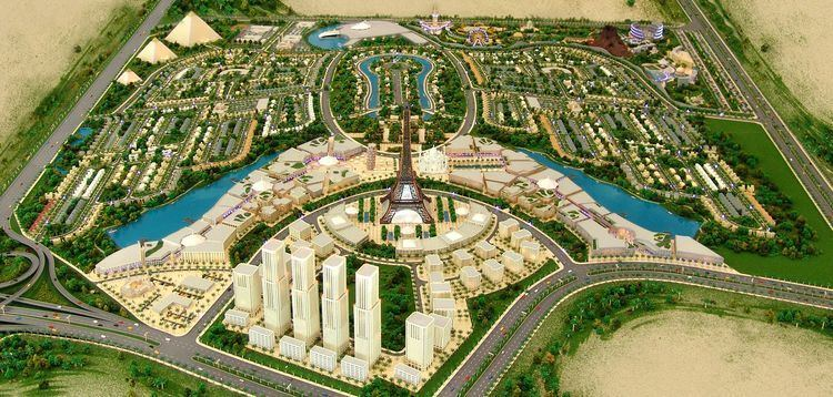 Falconcity of Wonders Falconcity of Wonders Dubai UAE The Projects