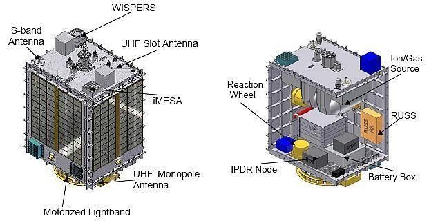 FalconSAT FalconSat5 eoPortal Directory Satellite Missions