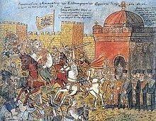 Fall of Constantinople httpsuploadwikimediaorgwikipediacommonsthu