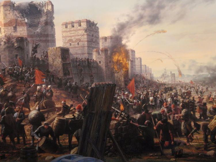 Fall of Constantinople The Fall of Constantinople O Mouggos
