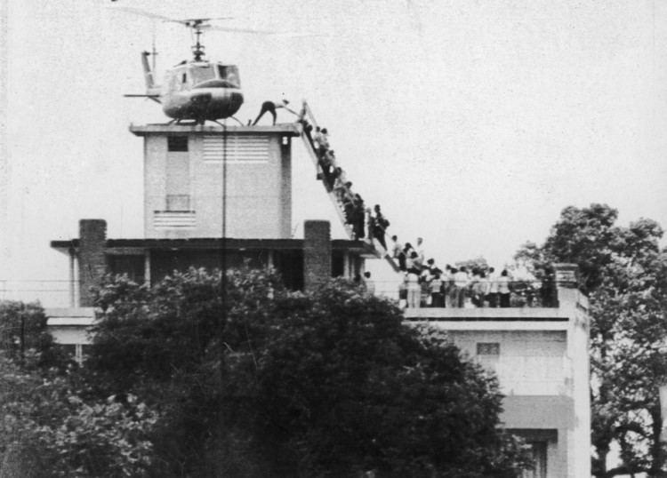 Fall of Saigon The Last Helicopter Evacuating Saigon