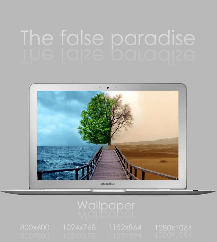 False Paradise The False Paradise by iCubu on DeviantArt