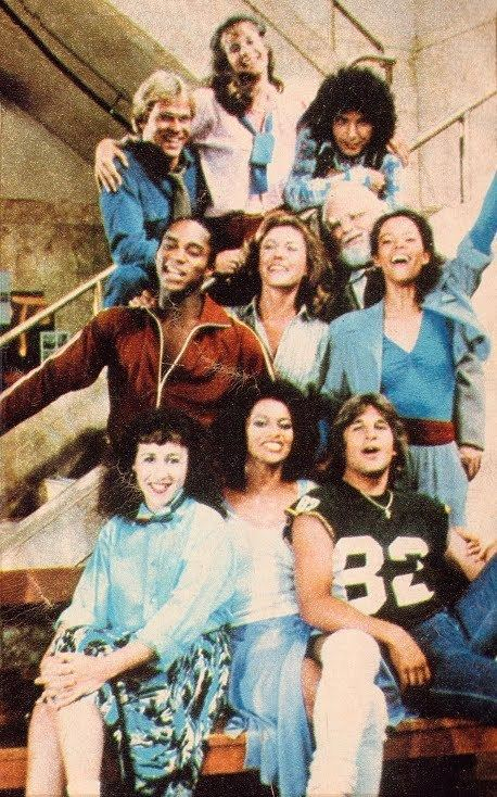 Fame (1982 TV series) Kids From Fame Media Fame TV Series I Love the 80s