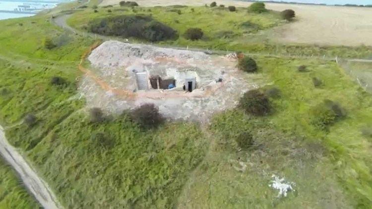 Fan Bay Deep Shelter National Trust Fan Bay Deep Shelter Project HD Aerial YouTube