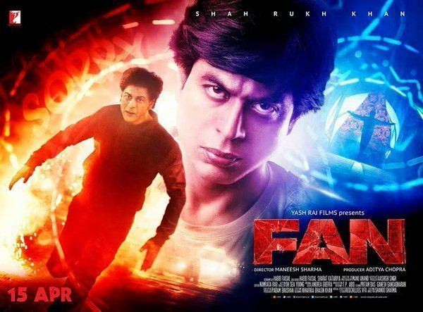 Shahrukh Khan FAN Movie 1st 2nd 3rd Day First Week Collection 2016