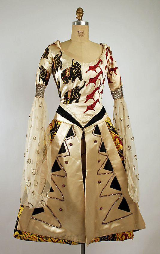 Fancy Dress (film) Lon Bakst Costume Fancy Dress with Raoul Dufy Textile Designer