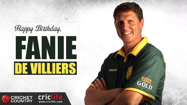 Fanie de Villiers 25 facts about the entertaining South African