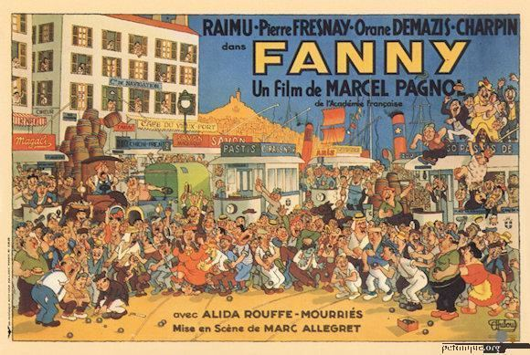 Fanny (1932 film) Poster of the film Fanny of Marcel Pagnol 1932 Postcards