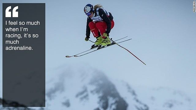 Fanny Smith Fanny Smith Ski cross champion defies odds in quest for Olympic
