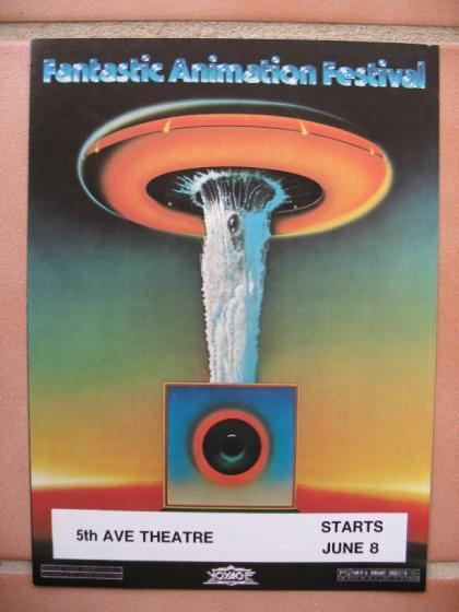 Fantastic Animation Festival PINK FLOYD Rare Concert Posters of the 60s and 70s PosterGeist