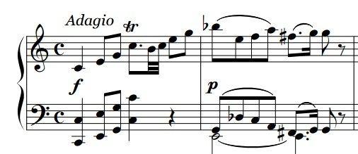 Fantasy No. 1 with Fugue (Mozart)