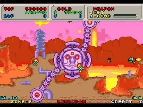 Fantasy Zone II: The Tears of Opa-Opa Arcade Longplay 258 Fantasy Zone II The Tears of Opa Opa YouTube