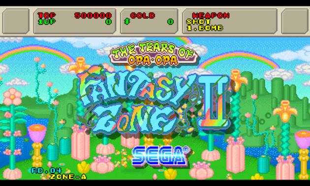 Fantasy Zone II: The Tears of Opa-Opa Review 3D Fantasy Zone II the Tears of OpaOpa SEGA Nerds