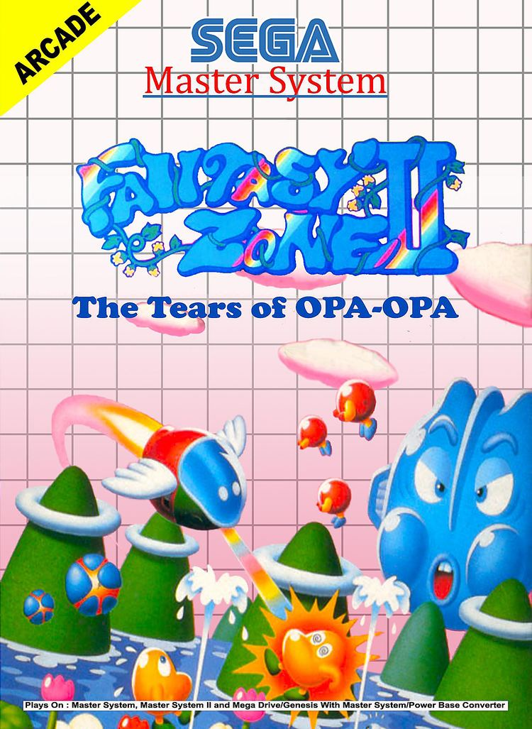 Fantasy Zone II: The Tears of Opa-Opa Review 3D Fantasy Zone II The Tears of OpaOpa Nintendo 3DS