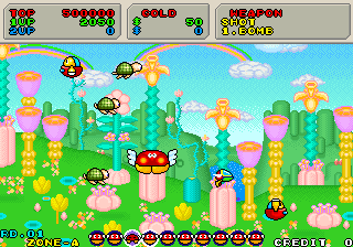 Fantasy Zone II: The Tears of Opa-Opa Fantasy Zone II The Tears of OpaOpa System 16C version ROM