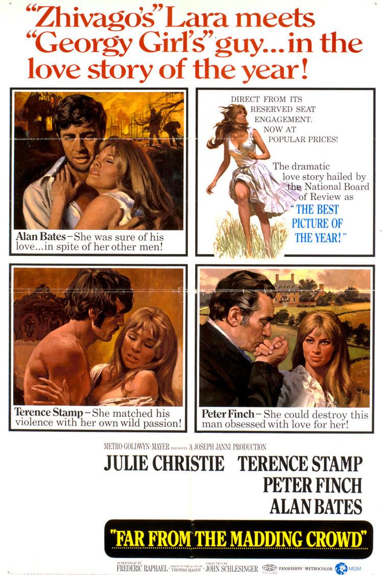 Far from the Madding Crowd (1967 film) wwwgstaticcomtvthumbmovieposters1267p1267p