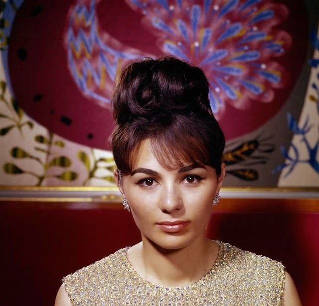 Farah Pahlavi vintage everyday Beautiful Portraits of a Young Farah