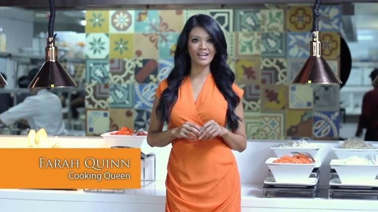 Farah Quinn Celebrity Shopping Farah Quinn Cooking Queen YouTube