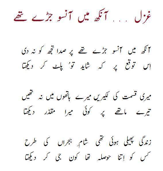Faraz Ahmed AhmadAhmed Faraz Poetry AhmadAhmed Faraz Shayari in Urdu