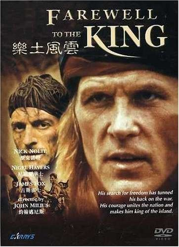 Farewell to the King Amazoncom Farewell to the King Nolte Havers Movies TV