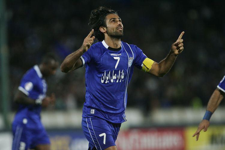 Farhad Majidi Goalcom Asia Team of the Month April 2013 Left Forward Farhad