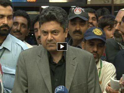 Farogh Naseem MQM39s Farogh Naseem denies Altaf Hussain39s arrest 3rd