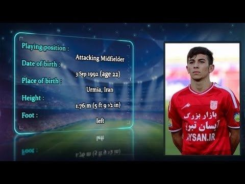 Farshad Ahmadzadeh Farshad Ahmadzadeh 27 The Tractor Clubs Player in EASTERN