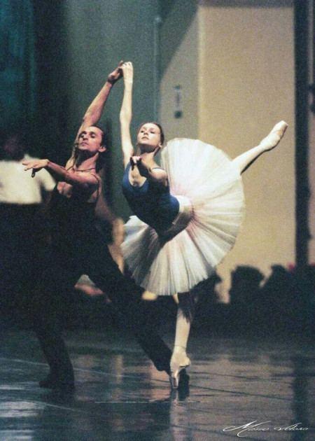 Farukh Ruzimatov Svetlana Zakharova and Farukh Ruzimatov rehearsing for Le
