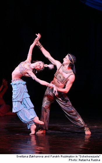 Farukh Ruzimatov BalletDance Magazine VI International Ballet Festival