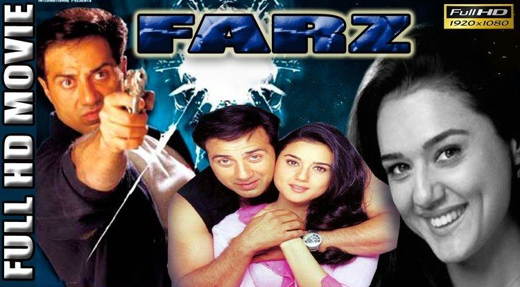 Farz (2001 film) Farz 2001 Sunny Deol Preity Zinta Full Length HD Movie YouTube