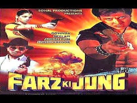 Farz ki Jung 1989 Full Movie Govinda Neelam Amrish Puri