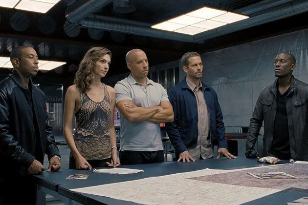 Fast %26 Furious 6 movie scenes Hey hey the gang s all here Fast Furious 6