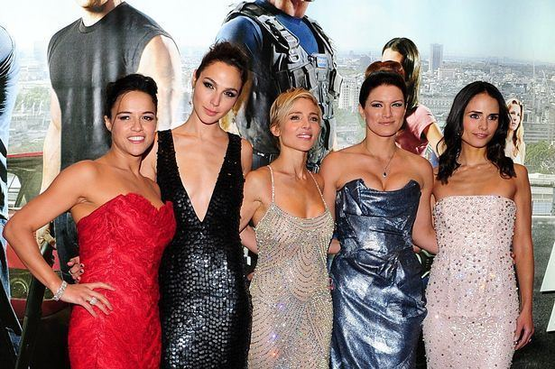 Fast %26 Furious 6 movie scenes Stars at the Fast and Furious 6 premiere in London