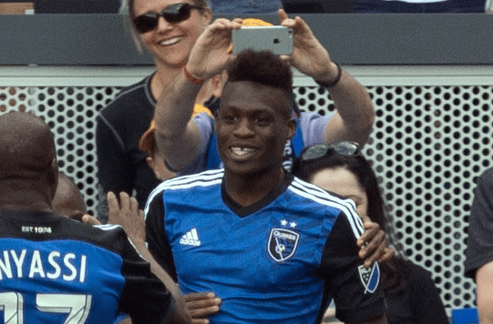 Fatai Alashe SBI MLS Rookie of the Week Fatai Alashe Soccer By Ives