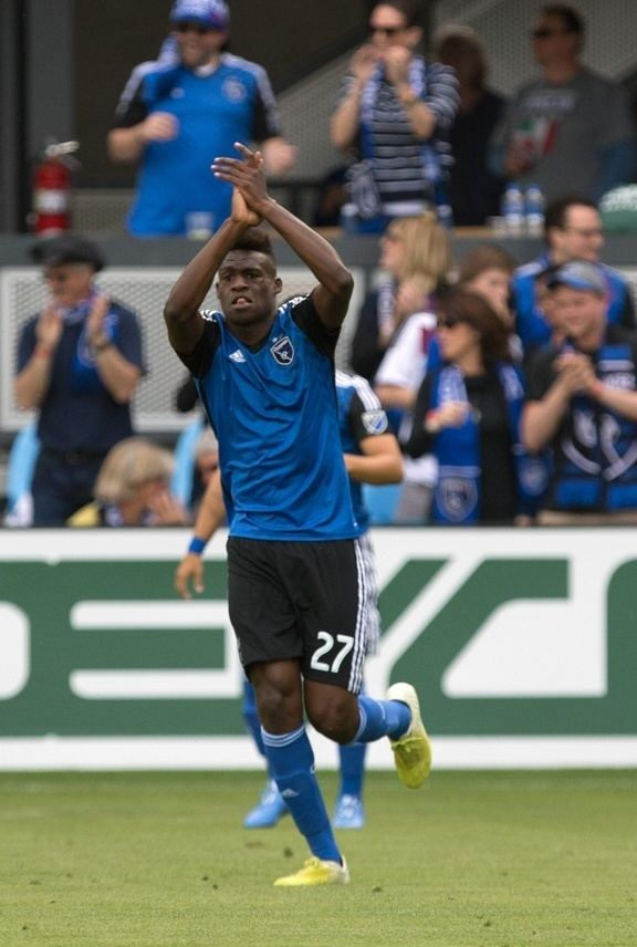 Fatai Alashe SBI MLS Rookie of the Month Fatai Alashe Soccer By Ives