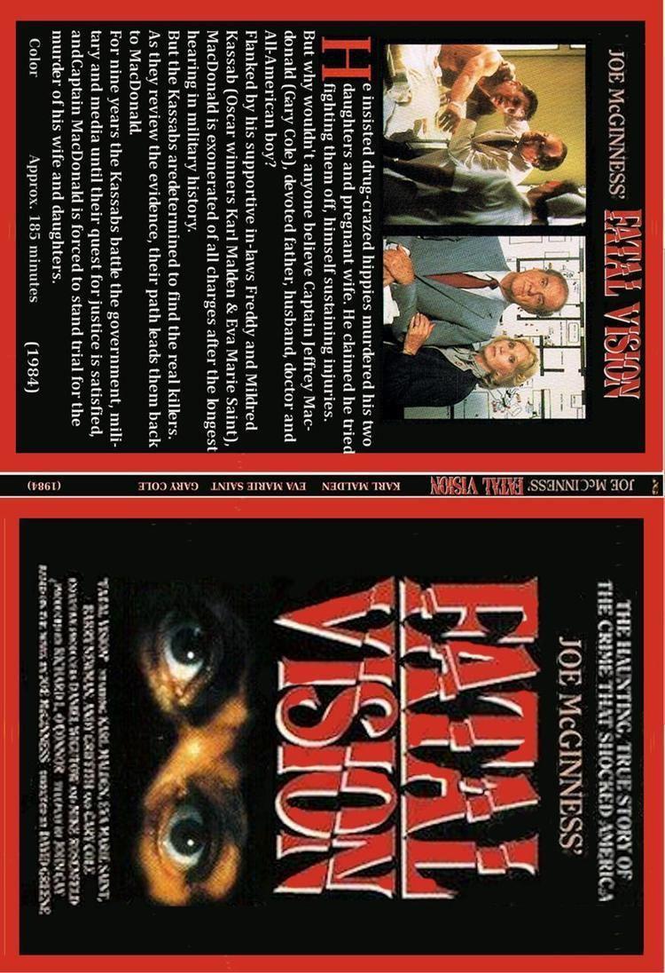 Fatal Vision (miniseries) Fatal Vision 1984 Karl Malden Eva Marie Saint 2DVD set