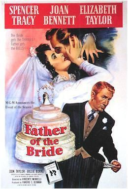Father of the Bride (1950 film) movie poster