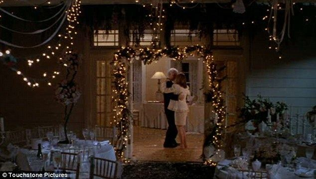 Father of the Bride (1991 film) movie scenes Movie history Steve Martin as nervous father of the bride George Banks dances