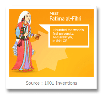 Fatima al-Fihri Fatima AlFihri Founder of the Oldest University in the