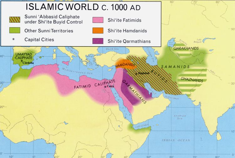 Fatimid Caliphate Today in Middle East history Fatimid Caliph alHakim destroys the