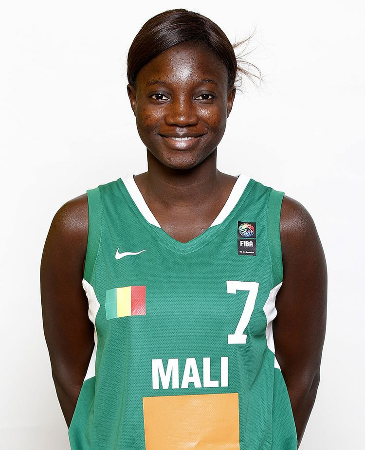 Fatoumata Bagayoko 7 Fatoumata BAGAYOKO MALI Headshot mali FIBA Flickr