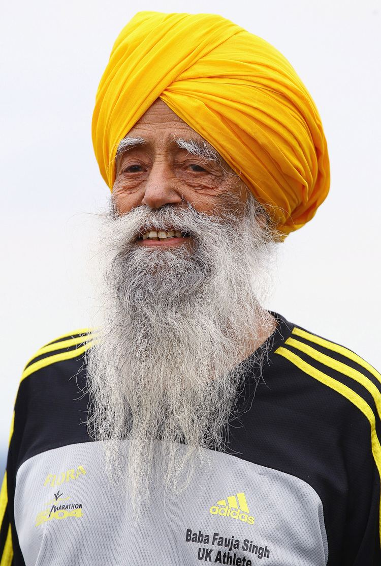 Fauja Singh Fauja Singh The 100yearold marathoner ESPN