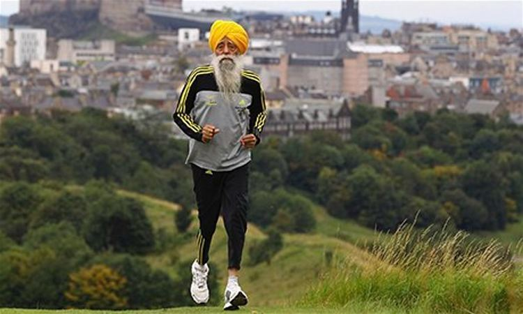 Fauja Singh The world39s oldest runner Fauja Singh on life since his