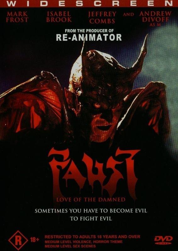 Faust: Love of the Damned FAUST LOVE OF THE DAMNED
