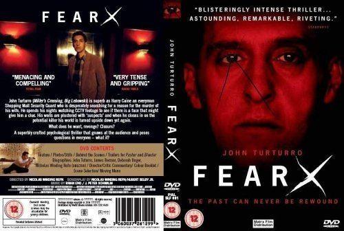 Fear X Fear X DVD 2004 Amazoncouk John Turturro Deborah Kara Unger